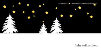 Umweltfreundliche Weihnachtskarten, wildpeppermint-design.de