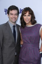 """Bill Hader and Director Maggie Carey arrive as CBS Films presents """"The To Do List"""" Los Angeles Premiere on Tuesday July 23, 2013 at the Regency Bruin Theater in Los Angeles, CA (Alex J. Berliner/ABImages)"""