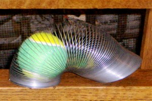 resilient slinky