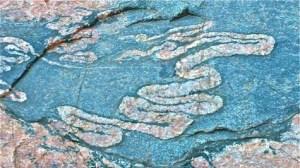 Granite Swirls in Deep Time