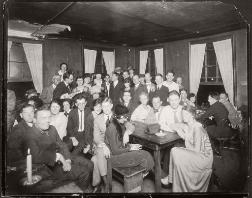 Bohemian Gathering in the 1920s