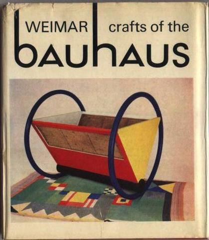 Magazine ad for Bauhaus Baby Cradle, designed by Peter Keler