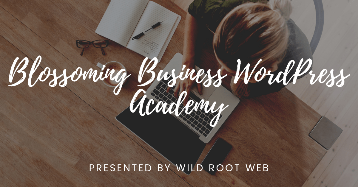 WordPress Academy Header