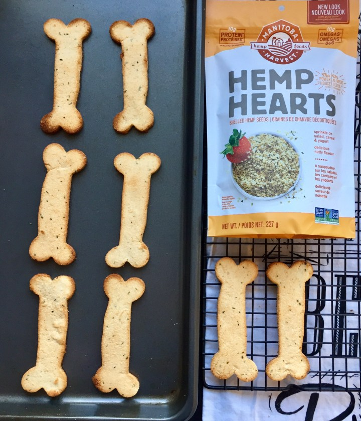 Coconut Hemp Heart Dog Treats