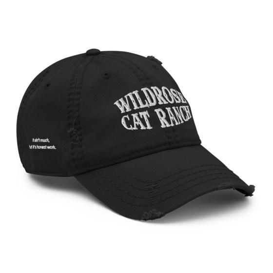 Wildrose Cat Ranch Hat Black Dad Hat