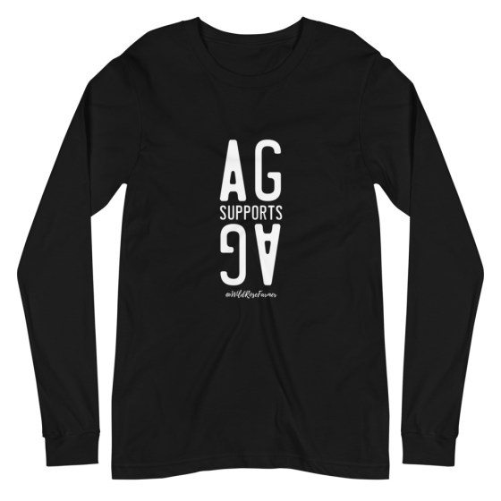Stacked Ag Supports Ag Long Sleeve Black