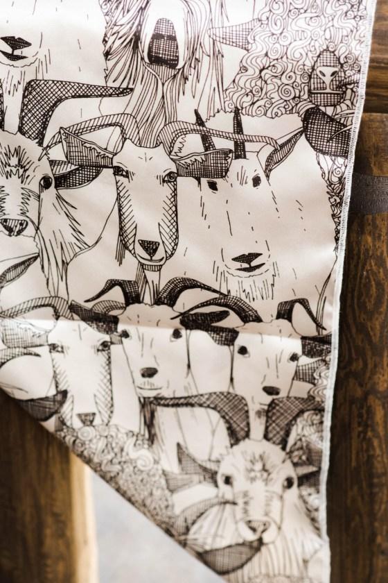 Goat Wrangler Wild Rag | WildRoseFarmer Wild Rag by Urban Cowgirl