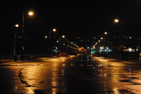 Nightime, The Prom, Tramore,Waterford
