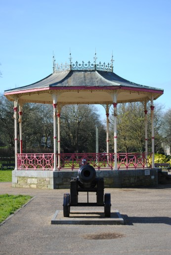 Standing back, The People's Park Waterford.