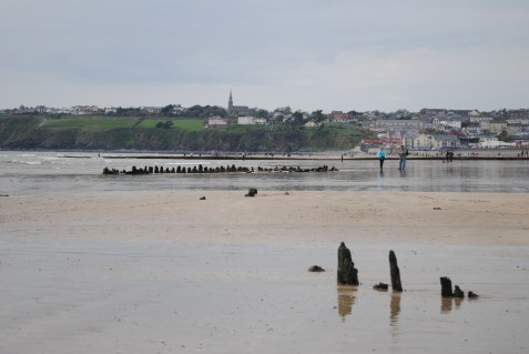 Tramore Strand, looking towards Christ Church