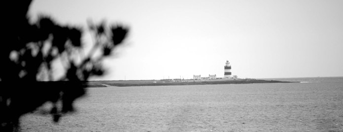 Hook Lighthouse, at the mouth of the Suir Estuary.