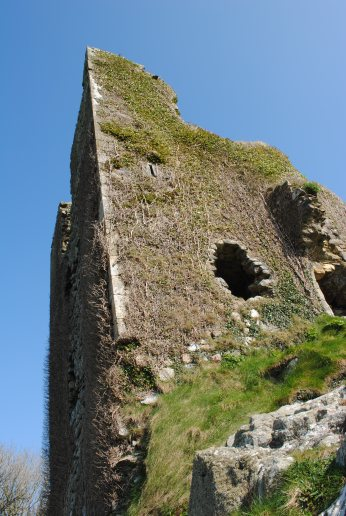 Dunhill Castle, County Waterford