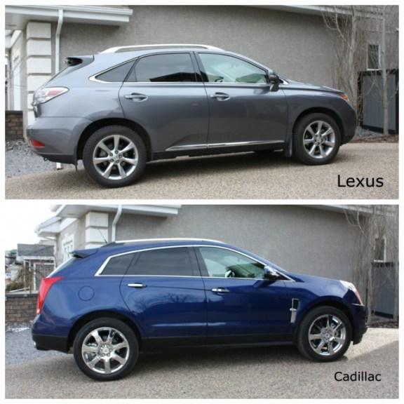 comparo 2012 lexus rx 350 vs 2012 cadillac srx review. Black Bedroom Furniture Sets. Home Design Ideas