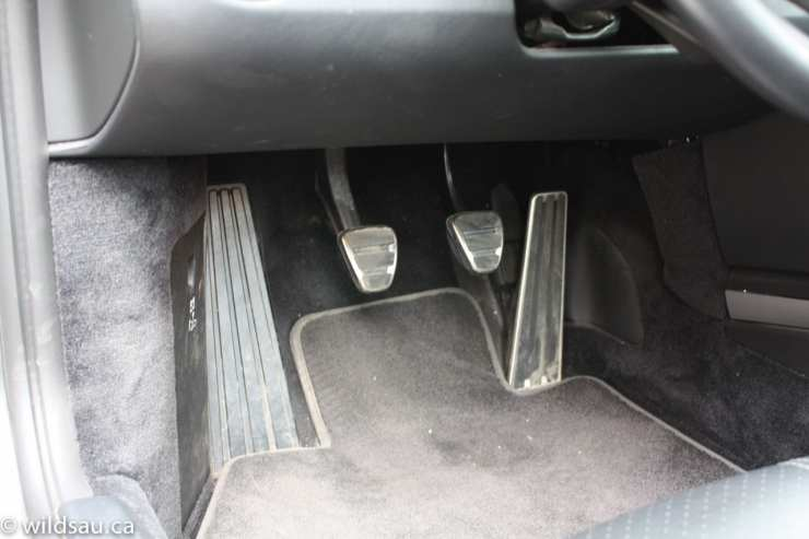 footwell pedals