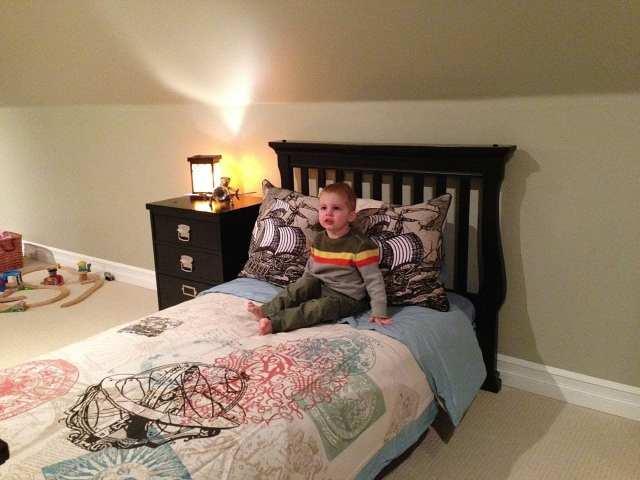 Andon big boy bed