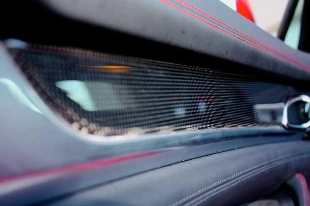 carbon fiber detail