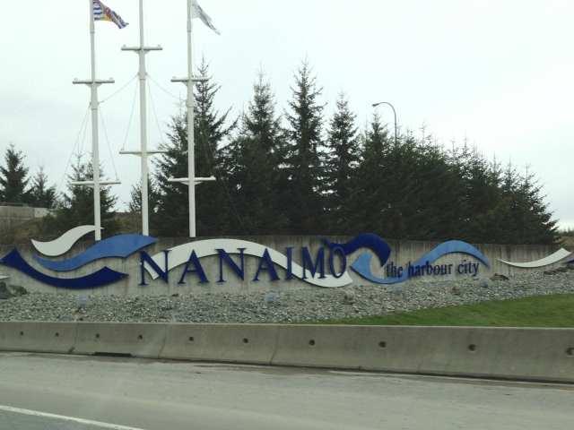 Nanaimo sign