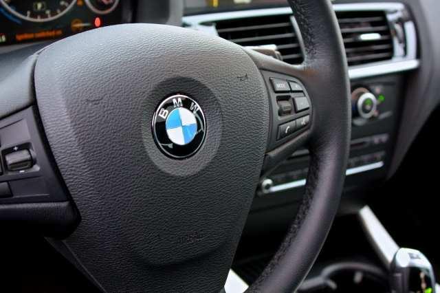 steering wheel roundel