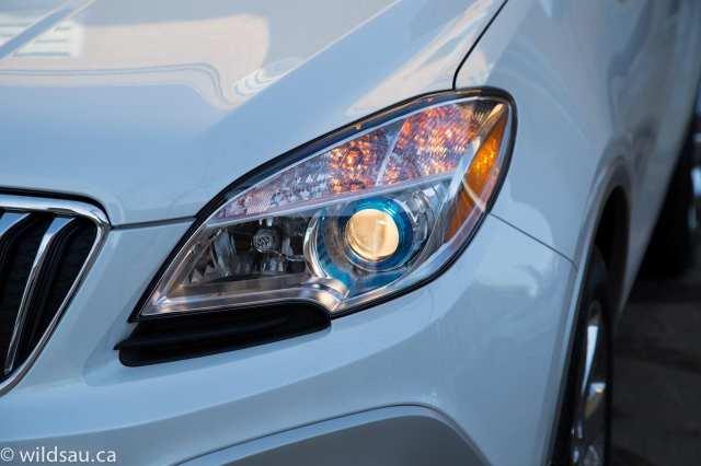 headlight on