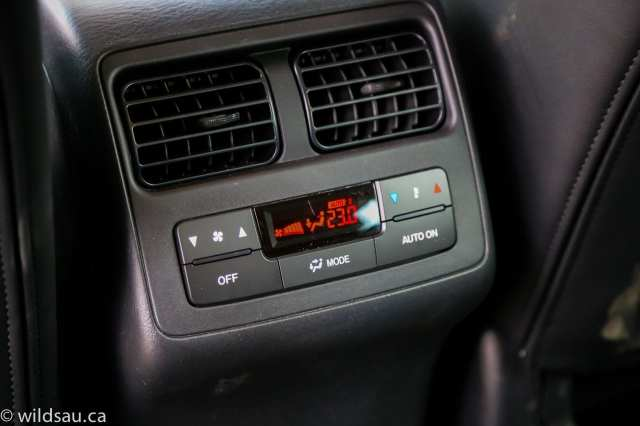 rear climate control
