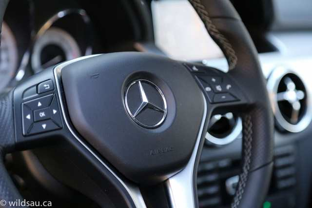 steering wheel detail