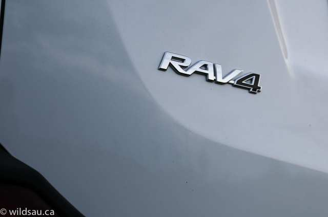 RAV4 badge