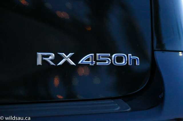 RX 450h badge