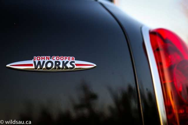rear JCW badge