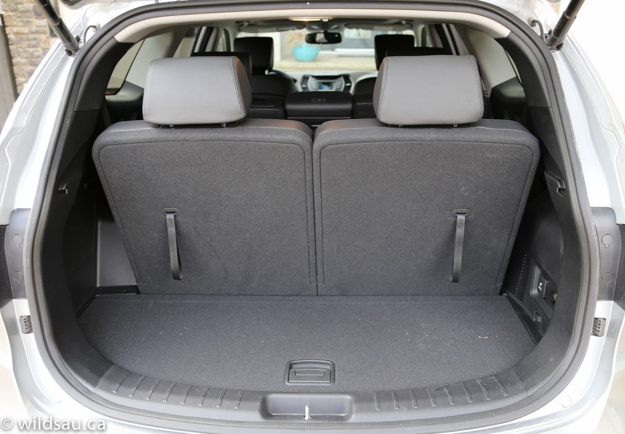 Even With The Third Row In Use, You Have A Useful Trunk Of 383 Litres. The Third  Row Folds (in A 50/50 Split) Flat, ...