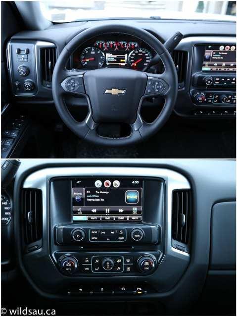 Chevy dash detail