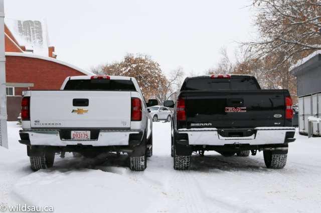 both rear profile