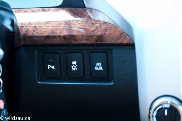 park tow haul buttons