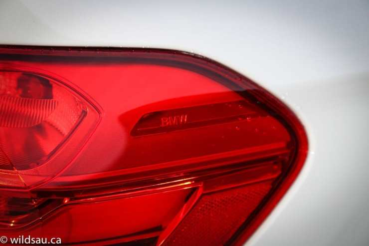 BMW in tail light