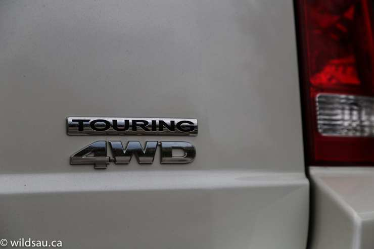 touring 4wd badge