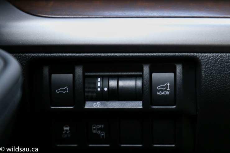 trunk buttons