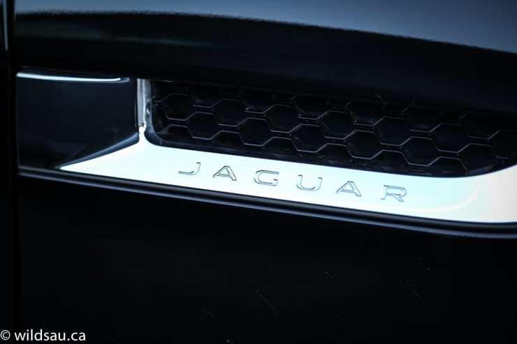 cowl Jag badging