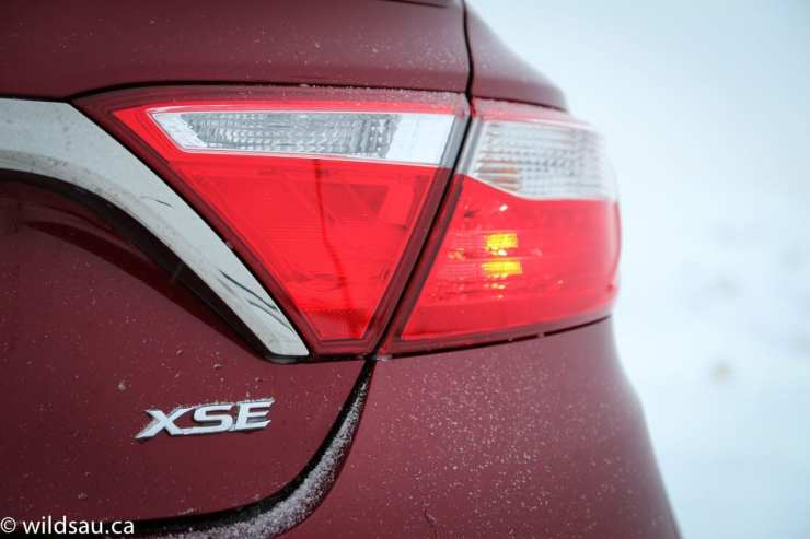 XSE badge tail light