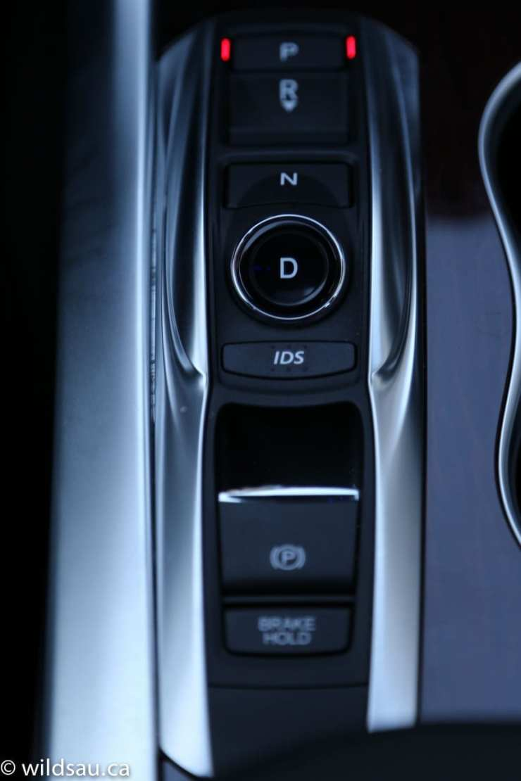 gear selector buttons