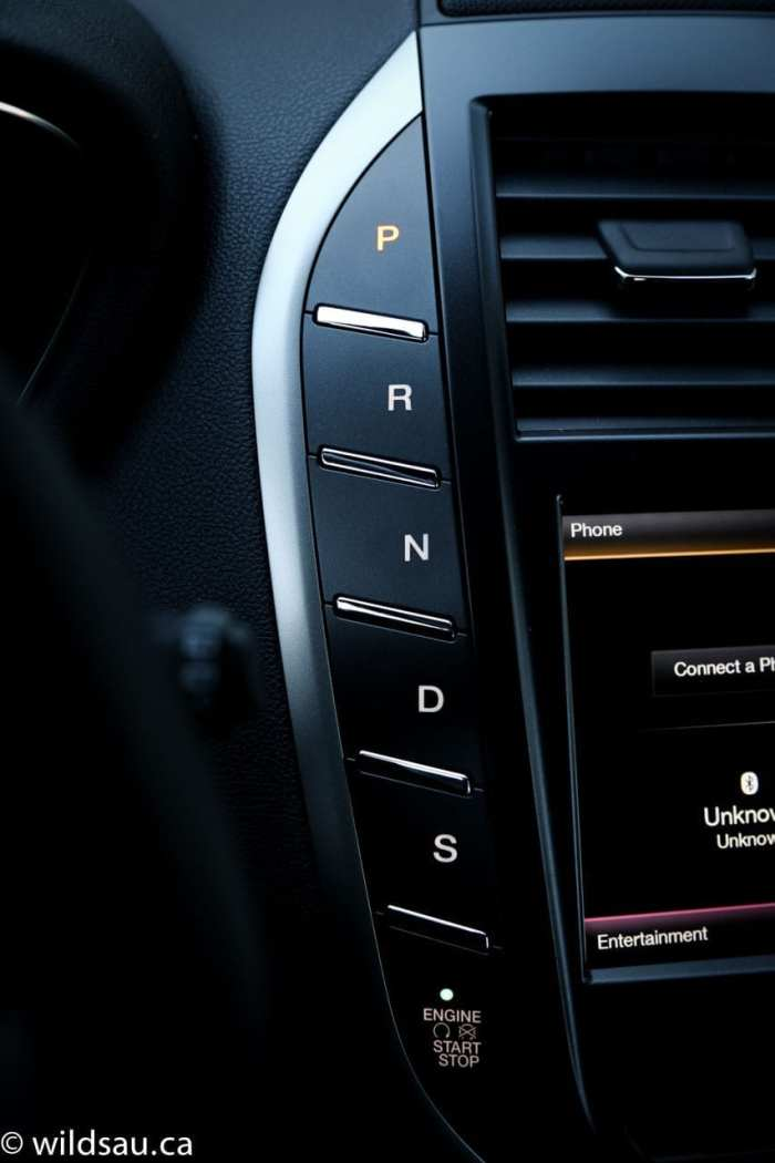 push button gears