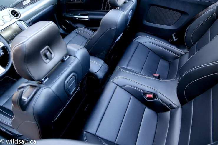 convertible rear seats
