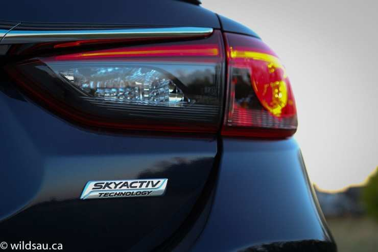 skyactiv badge tail light
