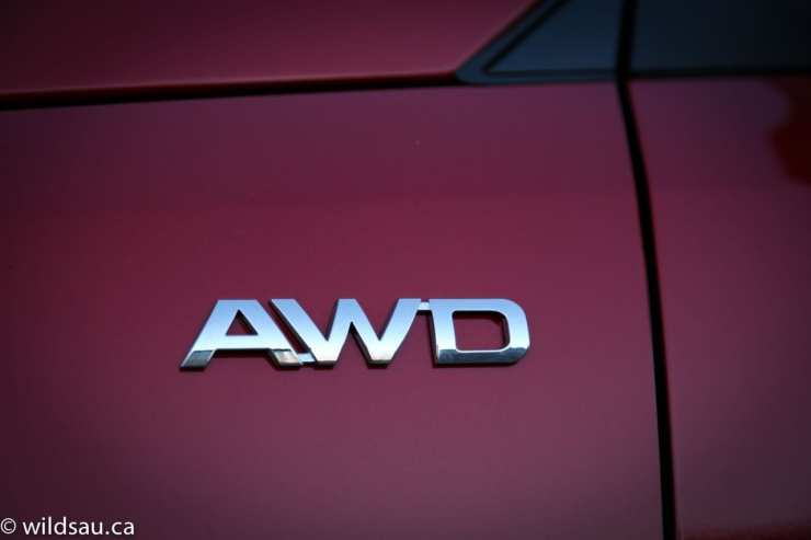 AWD badge