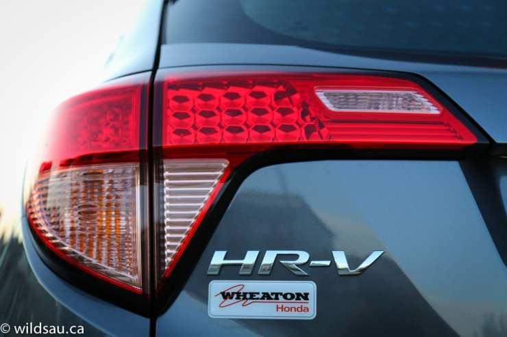 HR-V badge