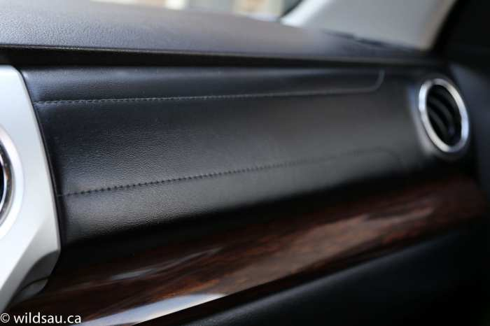 dash trim detail