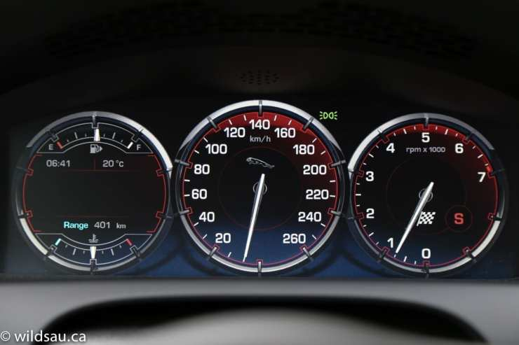 sporty gauges