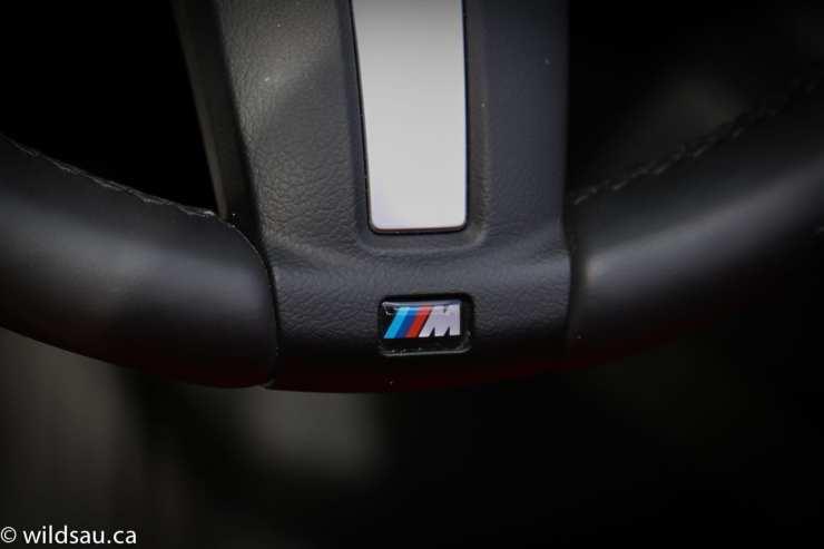 M steering wheel