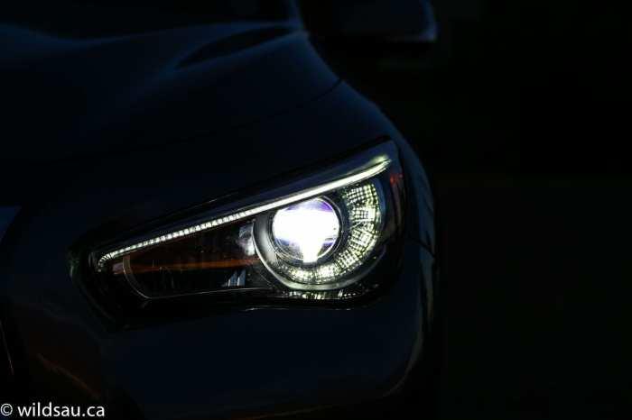 headlight very dark_