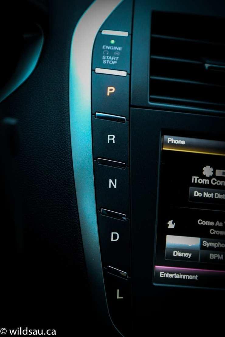 push button transmission