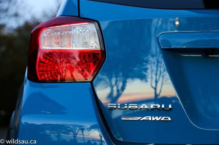 tail light Subaru badge