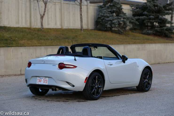 rear quarter top down